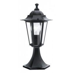 Eglo kültéri álló E27 1x60W fekete Laterna4