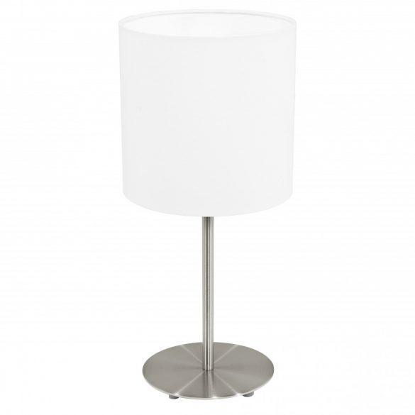 Eglo textil asztali E27 60W fehér Pasteri