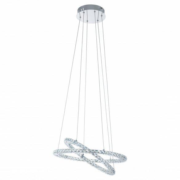 Eglo LED függeszték/2 króm/kristály Varazzo