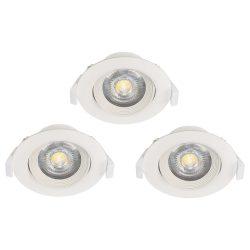 Eglo LED beépíthető 3x5W 3000K fehér állítható Sartiano