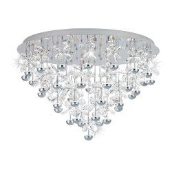 Eglo LED mennyezeti 43x1,8W króm/krist Pianopoli