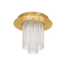 Eglo LED mennyezeti 10x4,3W arany/kristály Vilalones