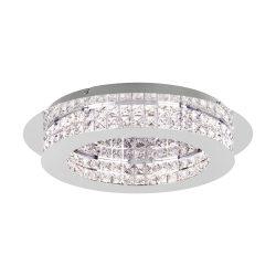 Eglo LED mennyezeti 10x3,15W króm/kristály Principe