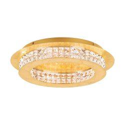 Eglo LED mennyezeti 10x3,15W arany/krist Principe