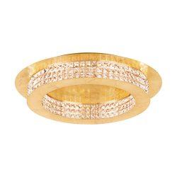 Eglo LED mennyezeti 14x3,15W arany/krist Principe