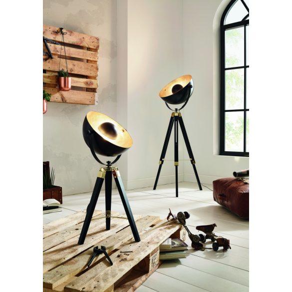 Eglo asztali E27 1x60W fekete/réz CovaLEDa