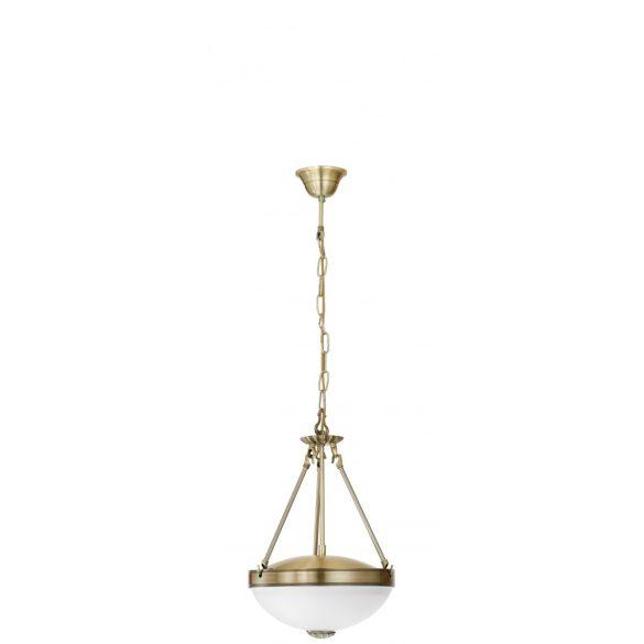 Eglo függeszték 2*60W bronz Savoy 13151