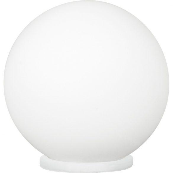 Eglo asztali E27 1*60W 20cm ezüst/opál Rondo