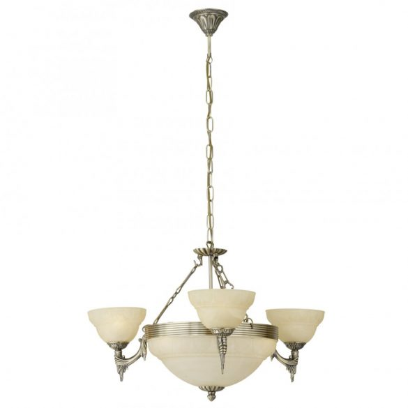 Eglo csillár E14 6*60W bronz/pezsgő Marbella