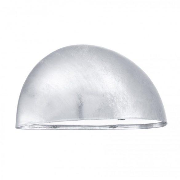 Eglo kültéri fali 1x40W E27 cinkelt fém/műanyag fehér bura IP23 Lepus