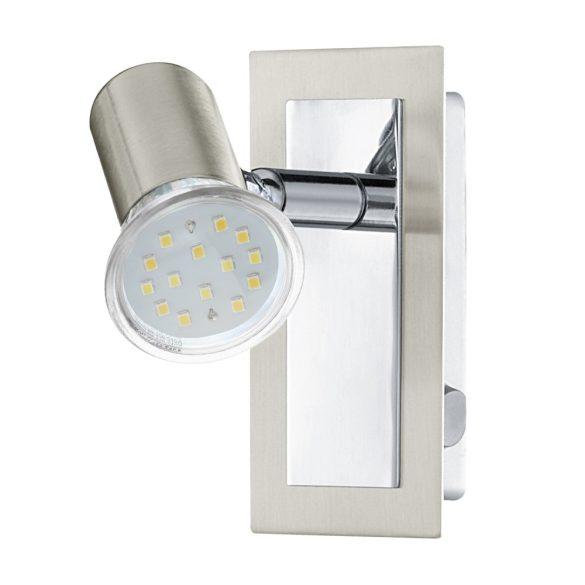 Eglo LED fali GU10 5W matt nikkel/króm Rottelo