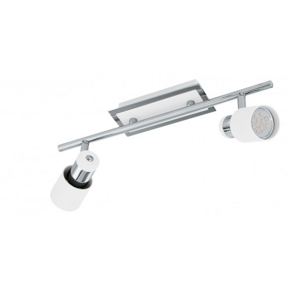 Eglo LED fali/mennyezeti GU10 2x5W kr/feh Davida