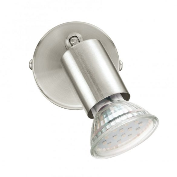 Eglo LED fali GU10 1x3W mnikkel Buzz-LED