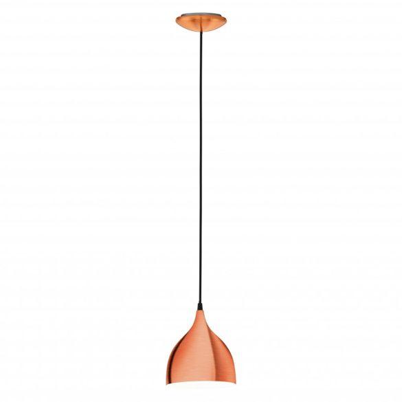 Eglo függeszték E27 60W réz színű d:17cm Coretto