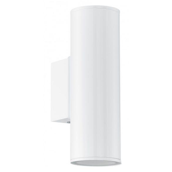 Eglo kültéri LED  fali GU10 2x3W IP44 fehér Riga