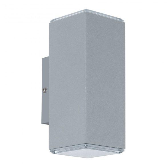 Eglo kültéri LED  fali 2x3,7W IP44 ezüst Tabo