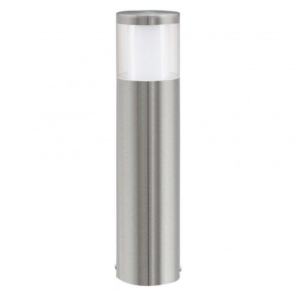 Eglo kültéri LED álló 1x3,7W IP44 m:45cm nemes acél/fehér Basalgo1