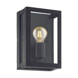 Eglo kültéri fali E27 1x60W fekete/üveg Alamonte1
