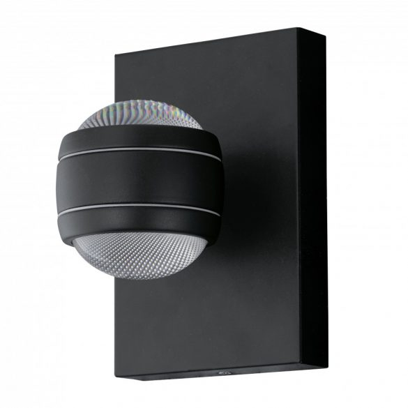 Eglo kültéri LED fali 2x3,7W fekete Sesimba