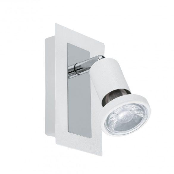 Eglo LED fali GU10 1x5W fehér/króm Sarria