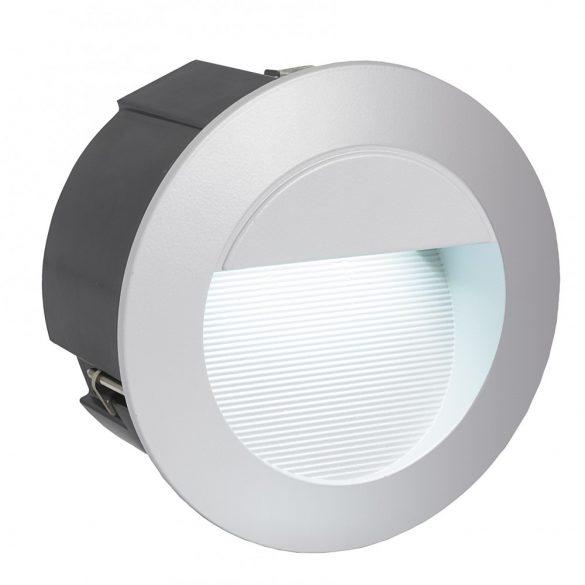 Eglo kültéri LED beépíthető 2,5W ezüst Zimba-Led