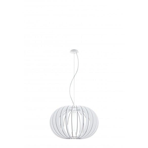 Eglo függeszték E27 1x60W 70cm fehér Stellato2