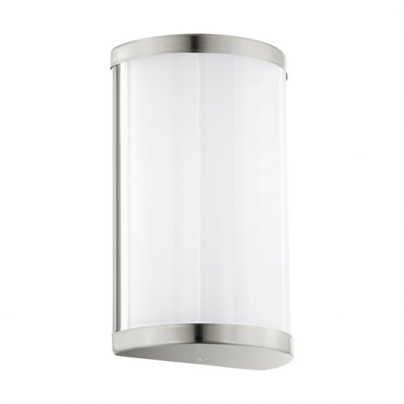 Eglo LED fali 2x4,5W mnikkel/fehér Cupella