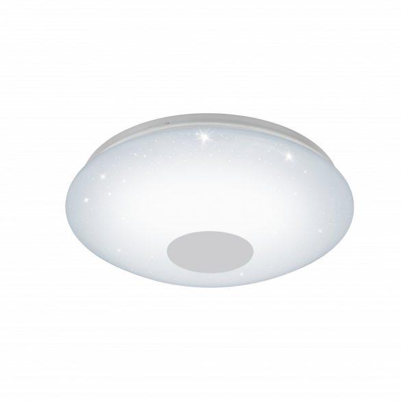 Eglo LED mennyezeti 20W fehér/csillogó szabályozható színhőmérséklet Voltago