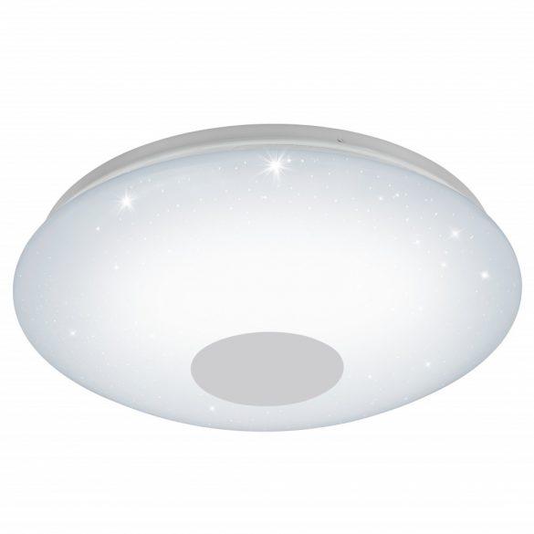 Eglo LED mennyezeti 30W fehér/csillogó szabályozható színhőmérséklet Voltago