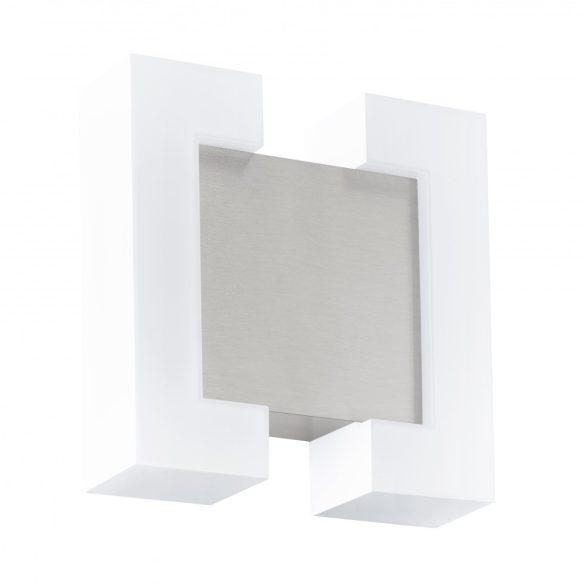 Eglo kültéri LED  fali 2x4,8W IP44 fehér/mattnikkel Sitia