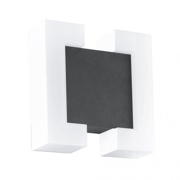 Eglo kültéri LED  fali 2x4,8W IP44 fehér/antracit Sitia