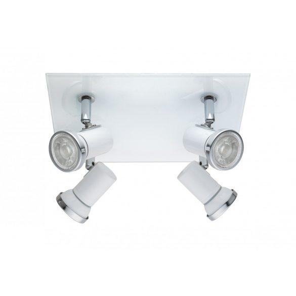 Eglo LED mennyezeti GU10 4x3,3Wfh/króm IP44 Tamara