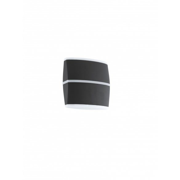 Eglo kültéri LED  fali 2x6W IP44 antracit Perafita