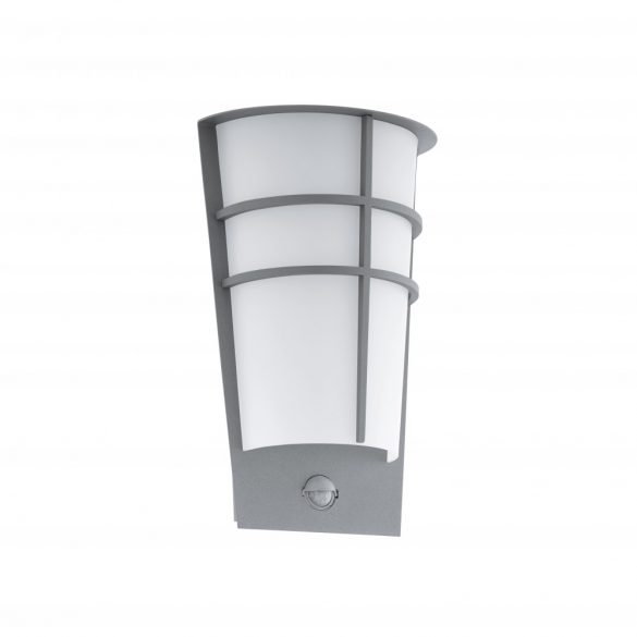 Eglo kültéri LED  fali 2x2,5W IP44 szenz.ezüst Breganzo1