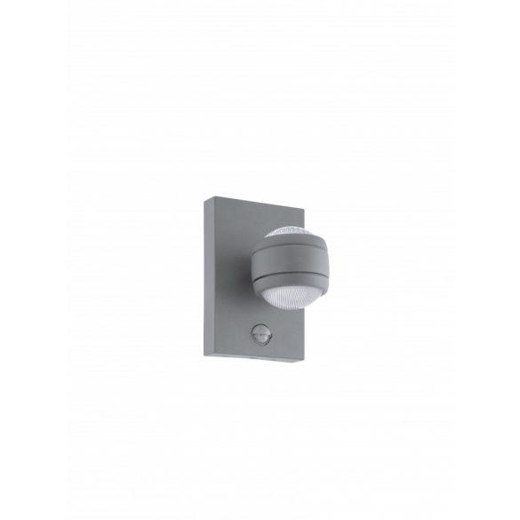 Eglo kültéri LED  fali 2x3,7W IP44 szenz ezüst Sesimba1