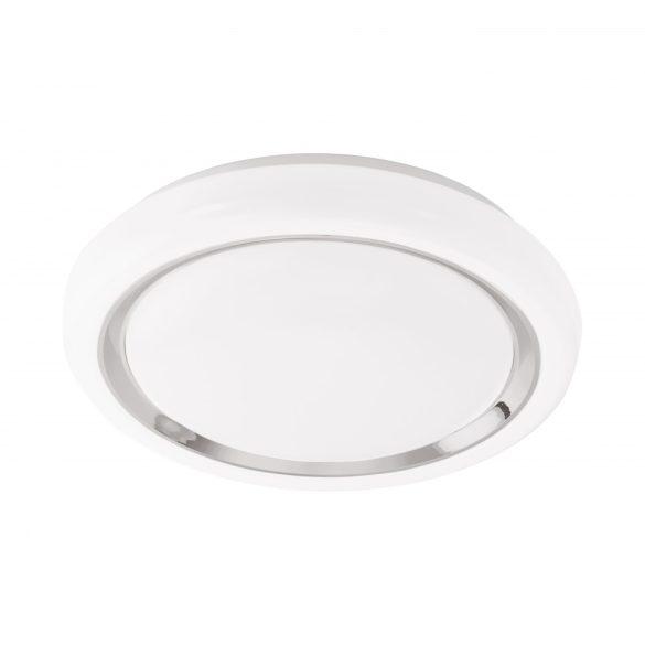 Eglo LED mennyezeti 18W fehér/króm Capasso