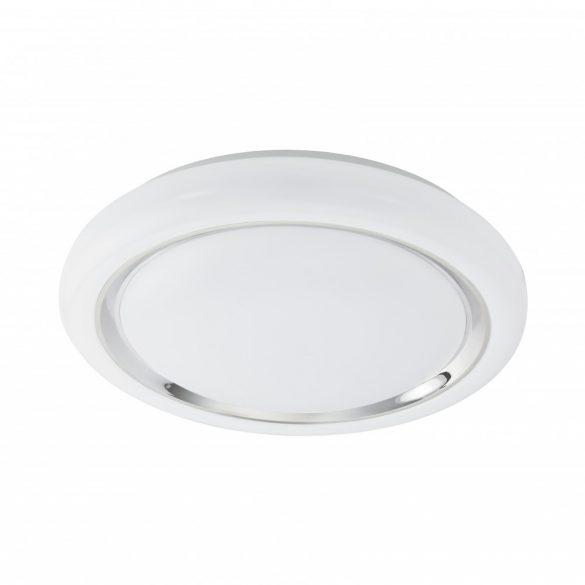 Eglo LED mennyezeti 24W fehér/króm Capasso