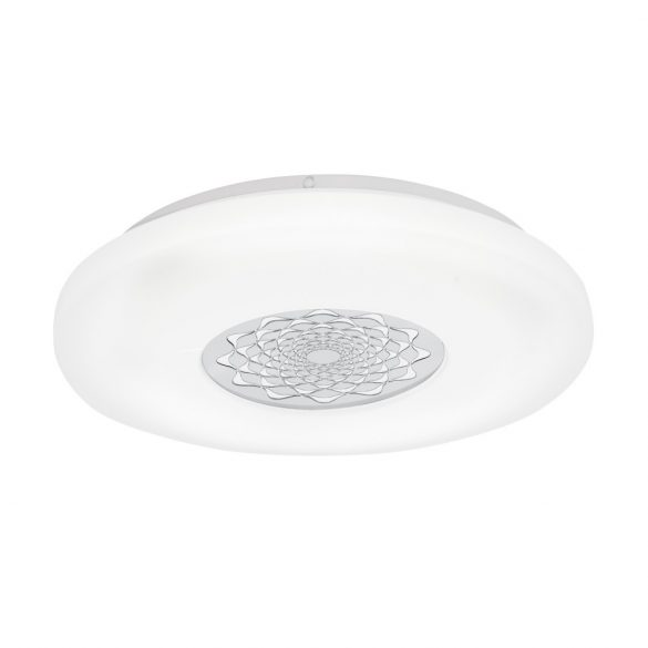 Eglo LED mennyezeti 24W fehér/minta Capasso