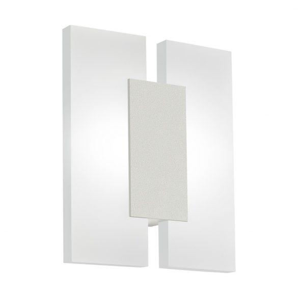 Eglo LED fali 2x5W mattnikkel Metrass2