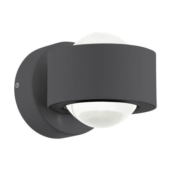 Eglo LED fali 2x2,5W antracit ONO 2