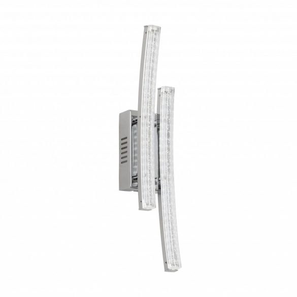 Eglo LED fali 2x3W króm/átlátszó Pertini