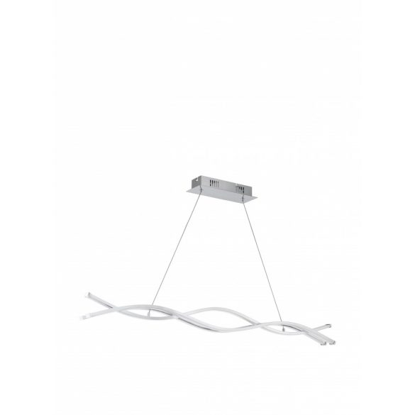 Eglo LED függeszték 3x13W 102cm króm/fehér Lasana2