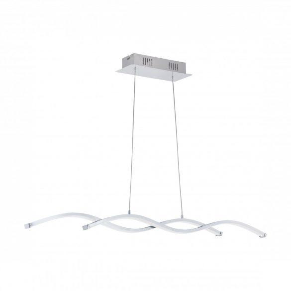 Eglo LED függeszték 2x9W 87cm króm/fehér Lasana2