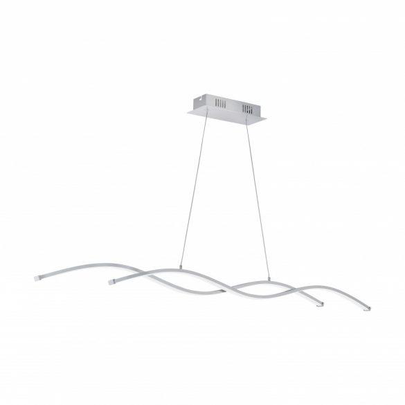 Eglo LED függeszték 2x14W 102cm króm/fehér Lasana2