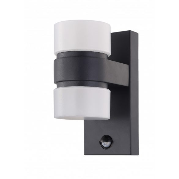 Eglo kültéri LED  fali 2x6W IP44 antracit/fehér Atollari