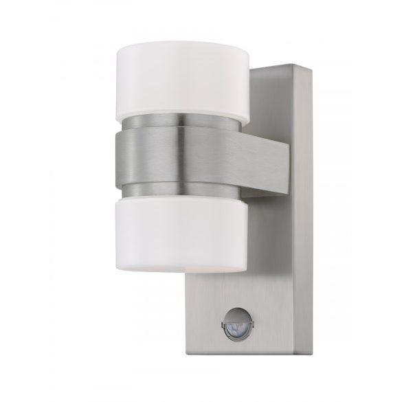 Eglo kültéri LED  fali 2x6W IP44 nemesacél/fehér Atollari