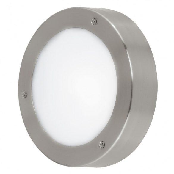 Eglo kültéri LED fali/menny 5,4W IP44 nemesacél/fehér Vento
