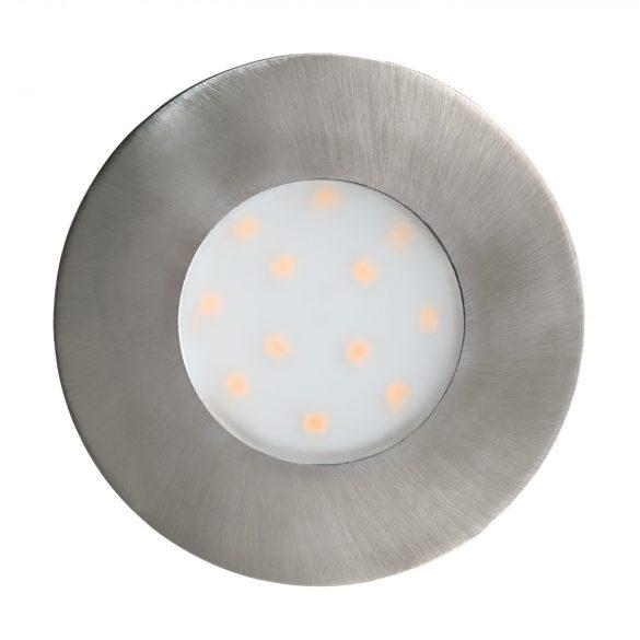 Eglo LED beépíthető 6W 7,8cm nikkel Pineda-IP