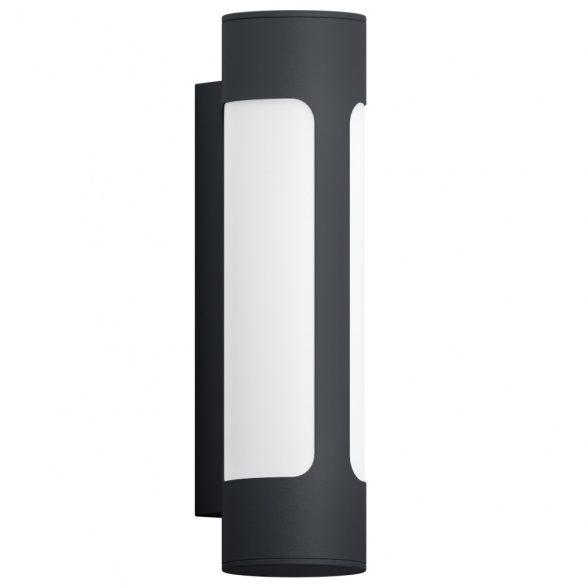Eglo kültéri LED fali 2x6W antracit/fehér Tonego