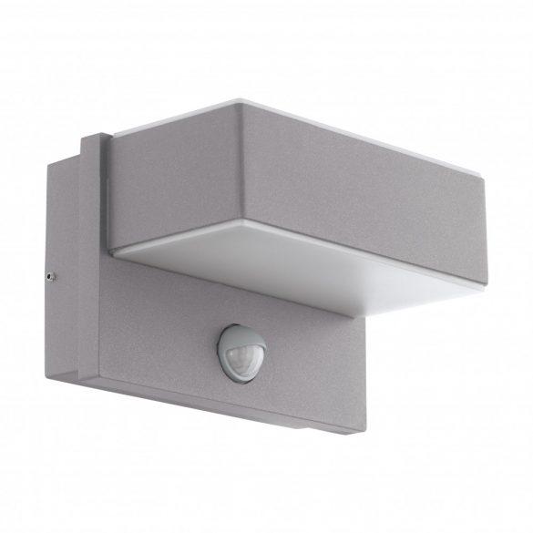 Eglo kültéri LED fali 2x5,6W szenz.ezüst Azzinano